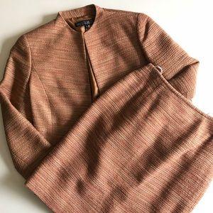 Lafayette 148 Blazer Jacket Skirt 2 Piece Set